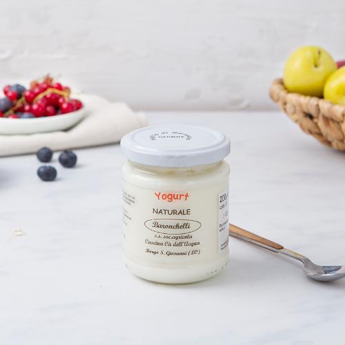 Yogurt al naturale