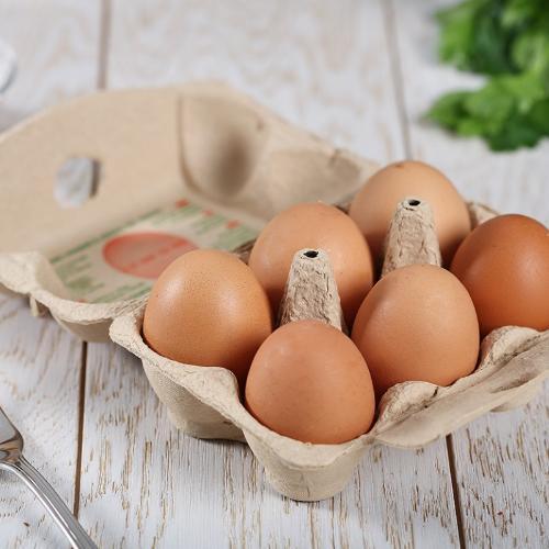 6 Uova da allevamento a terra